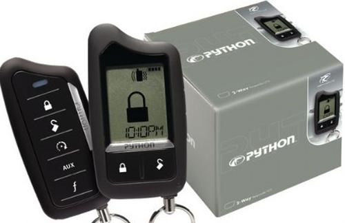 python car alarm