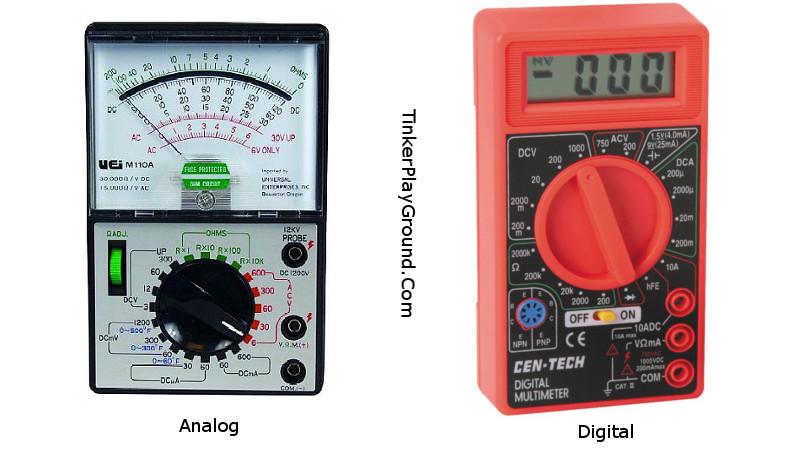 Digital Analog Multimeter : Understanding the different types of multimeters best